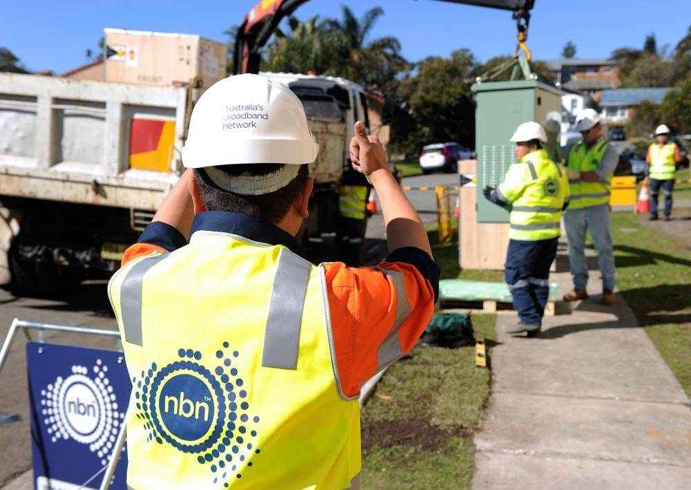 NBN contractor Foxcomm install an FTTN